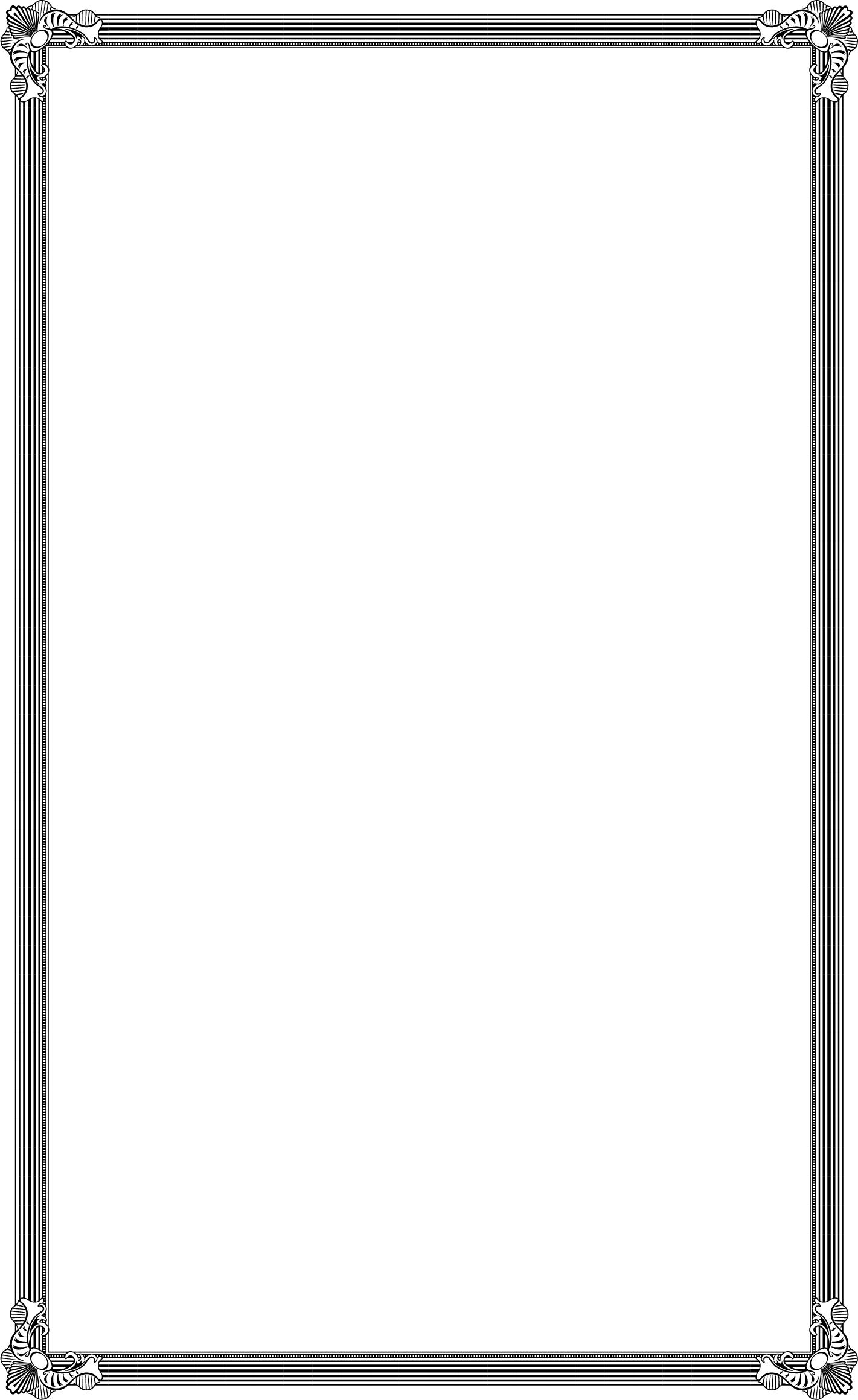 wedding menu borders and graphics
